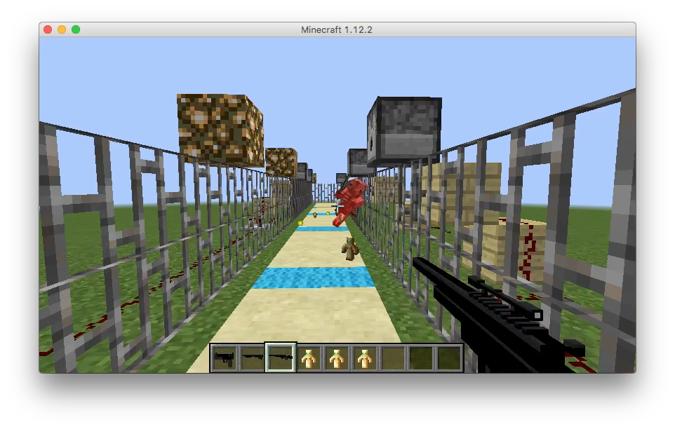 MinecraftMOD】オリジナル銃: Imagination Channel